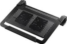 """Cooler Master Notepal U2 Plus, hűtő állvány 17 """"-os képátmérővel rendelkező notebookok számára(R9-NBC-U2PK-GP)"""