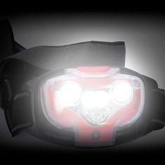 Rexer čelna svetilka RX1025 4 bele + 1 rdeča LED