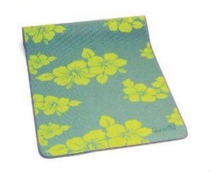 Sissel blazina Yoga Mat 'Flower', zelena