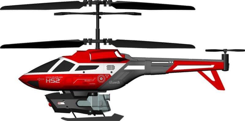 Silverlit R/C Helikoptéra Heli Splash (stříká vodu) červený