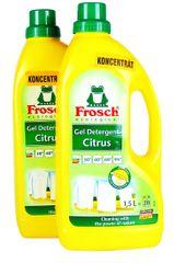 Frosch EKO 2x1,5 litra prací gél na biele prádlo