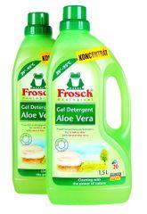 Frosch EKO 2x1,5 litra prací gél na jemnú bielizeň