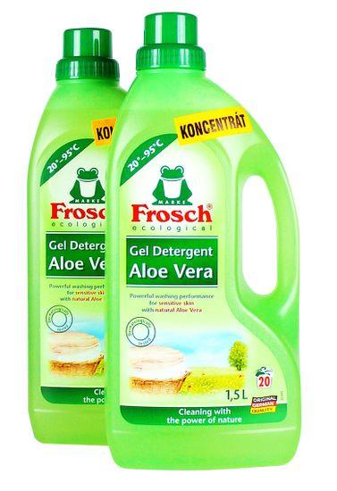 Frosch Eko pralni gel za otroška oblačila, 2 x 1,5 l