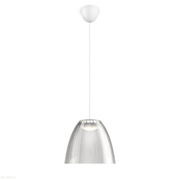 Philips LED svítidlo Tenuto 40904/87/16, šedé