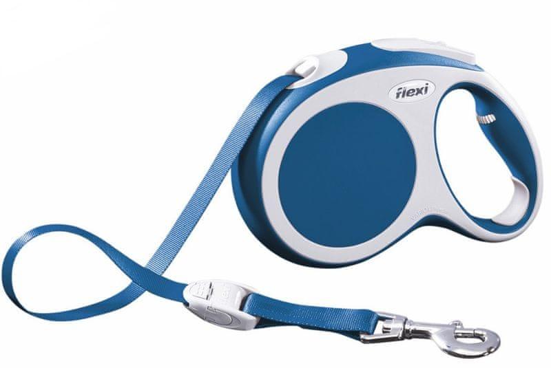 Flexi vodítko Vario L pásek 8m/50kg modré