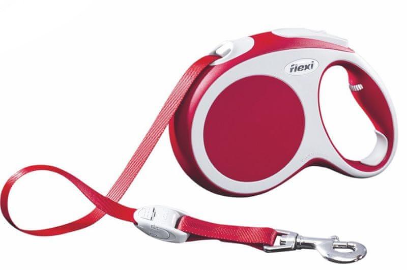 Flexi vodítko Vario L pásek 5m/60kg červené