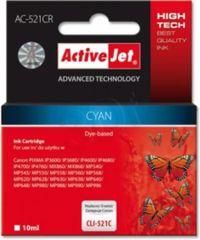 ActiveJet cyan kartuša Canon (CLI-521C)