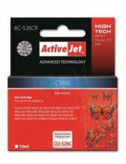ActiveJet cyan kartuša Canon (CLI-526C)