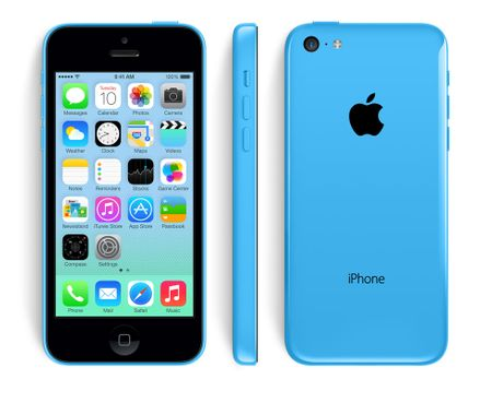 Apple iPhone 5C 8GB modrý  7e6ffd1affb