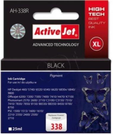 ActiveJet črna kartuša HP (C8765EE 338)