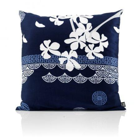 Odeja Sakura okrasni zgl.- 1 modra veliki cvet 40 x 40