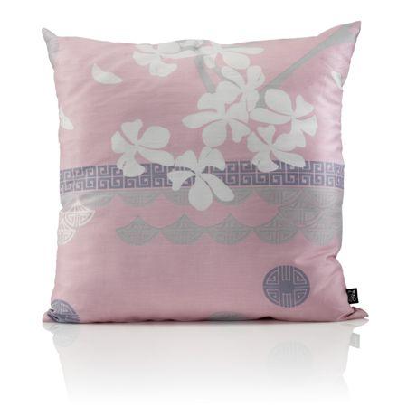 Odeja Sakura ukrasni jastuk rozi 40 x 40