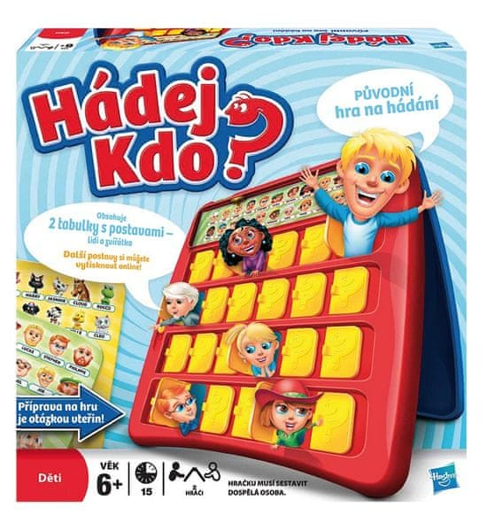Hasbro Hádej kdo - nová verze