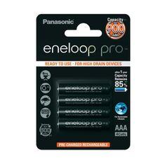 Panasonic AAA 4ks 900 mAh Eneloop Pro (BK-4HCCE/4BE)