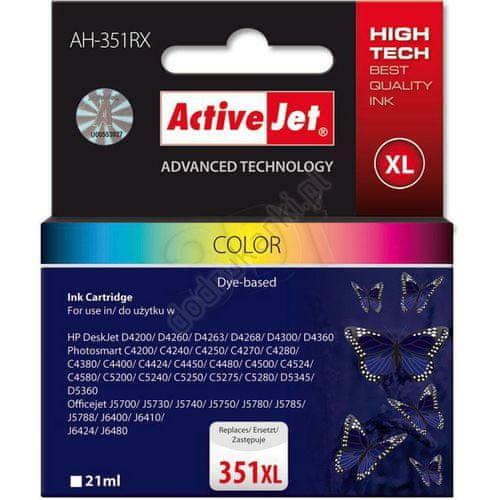 ActiveJet komplet tinta HP CB338 351XL