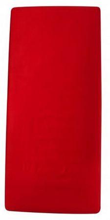 Odeja Hera Extra rjuha, 200 x 160 cm, z elastiko rdeča