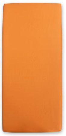 Odeja Hera Extra rjuha, 200 x 160 cm, z elastiko oranžna