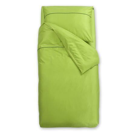 Odeja Basic N posteljnina, 200 x 200 zelena