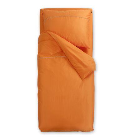 Odeja Basic N posteljnina, 200 x 200 oranžna