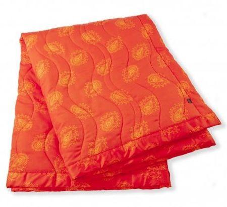Odeja Harmony pregrinjalo, 220 x 140 cm 220 X 140 CM oranžna