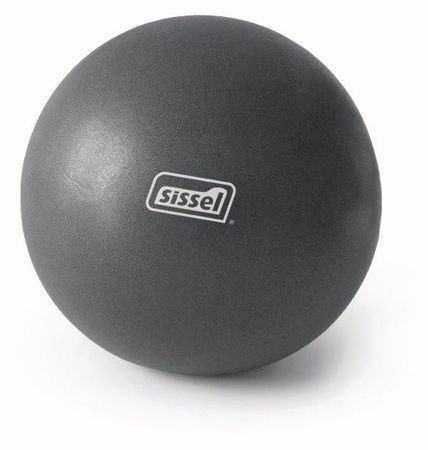 Sissel žogica Pilates Soft Ball, 22 cm, siva