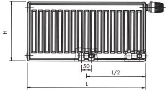 Korado radijator K-6 22/600/ 800