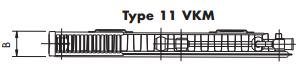Korado radiator K-6 11/500/ 500