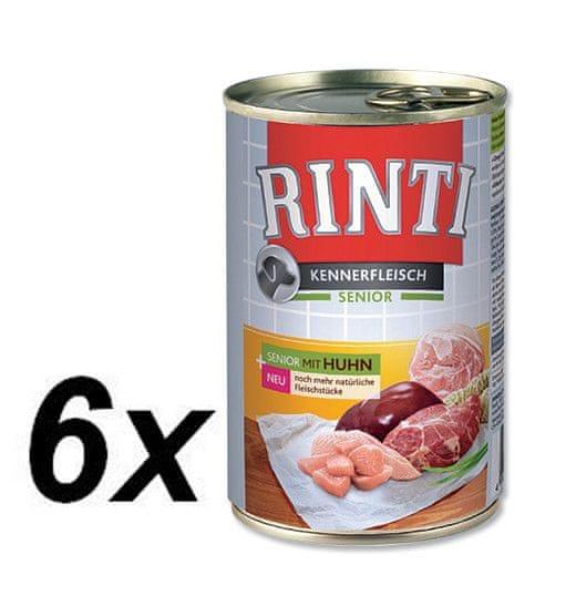 Rinti konzerva senior kuře 6 x 400g