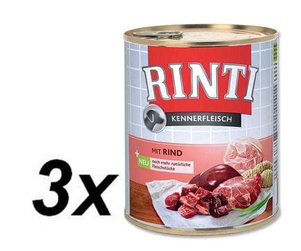 Rinti konzerva hovězí 3 x 800g
