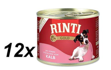 RINTI Gold konzerva teľacie 12 x 185 g