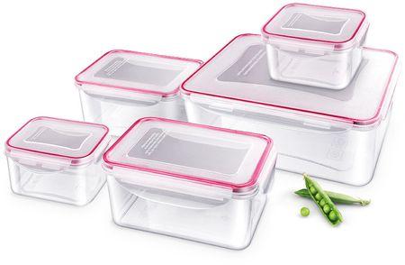 Lamart 5-delni set posod za shranjevanje hrane