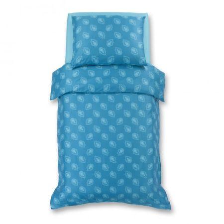 Odeja Harmony posteljnina, 200 x 140 cm + 60 x 80 cm, turkizna