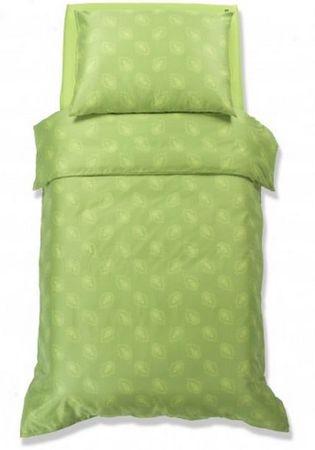 Odeja Harmony posteljnina, 200 x 140 cm + 60 x 80 cm, zelena