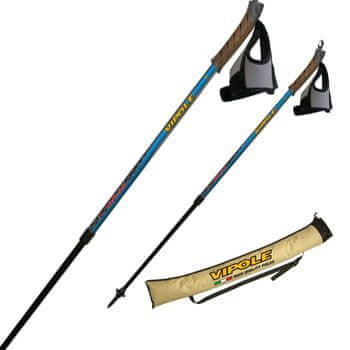 Vipole štapovi za nordijsko hodanje Nordic Vario, plavi