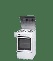 Indesit kuchnia gazowo-elektryczna I5GMH5AG(W) U