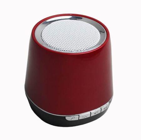 MP Man prenosni Bluetooth zvočnik (SP50BT), rdeč