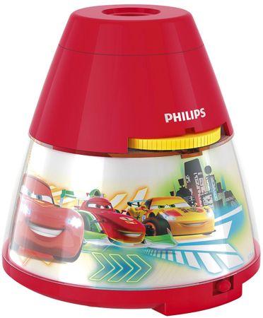 Philips 71769/32/16 detský projektor rozprávok Cars + nočná lampička