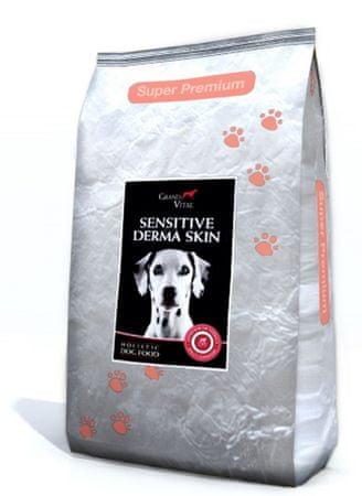 Grand Vital holistična hrana za odrasle pse z občutljivo kožo, 12 kg