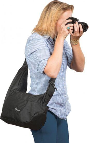 LOWEPRO torba na akcesoria foto Passport Sling III Black