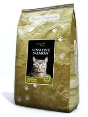 Grand Vital Cat Adult Sensitive Salmon macskaeledel - 7,5 kg