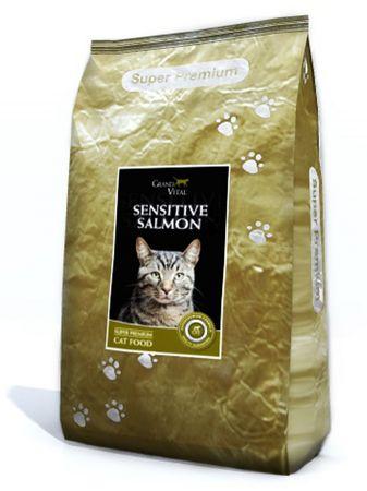 Grand Vital hrana za odrasle občutljive mačke, losos, 7,5 kg