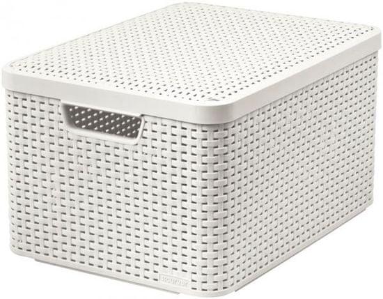 Curver Rattan Style box L
