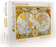 Clementoni Puzzle mapa antyczna, 4000 el.