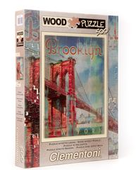 Clementoni Puzzle Brooklyn, 500 dielikov