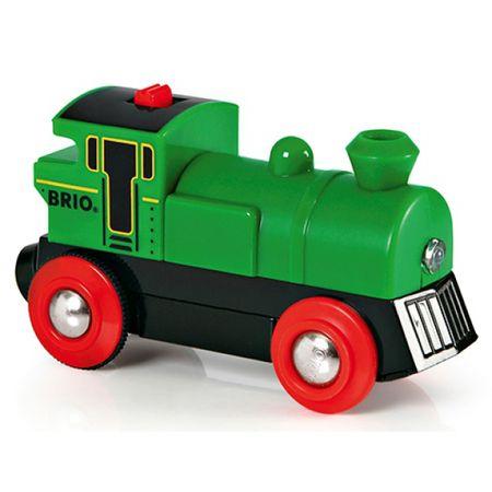 Brio Elektroniczna zielona lokomotywa 33595