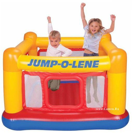 Intex napihljiva igralna hišica Jump Lene