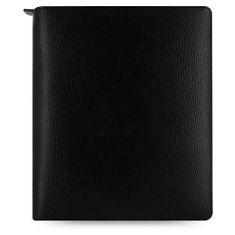 Diář s pouzdrem na iPad Air Filofax A5 Finsbury černý