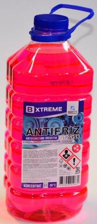 Bxtreme antifriz G12/G13, rdeči, 3 l
