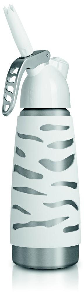 iSi Láhev na přípravu šlehačky Dessert Whip Plus 0,5 l, bílá
