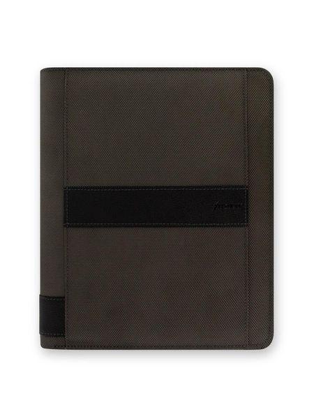 Diář s pouzdrem na iPad Air Filofax A5 Fusion šedý